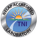 This is the logo of The Nelap Institute for A NELAP Accredited Laboratory.